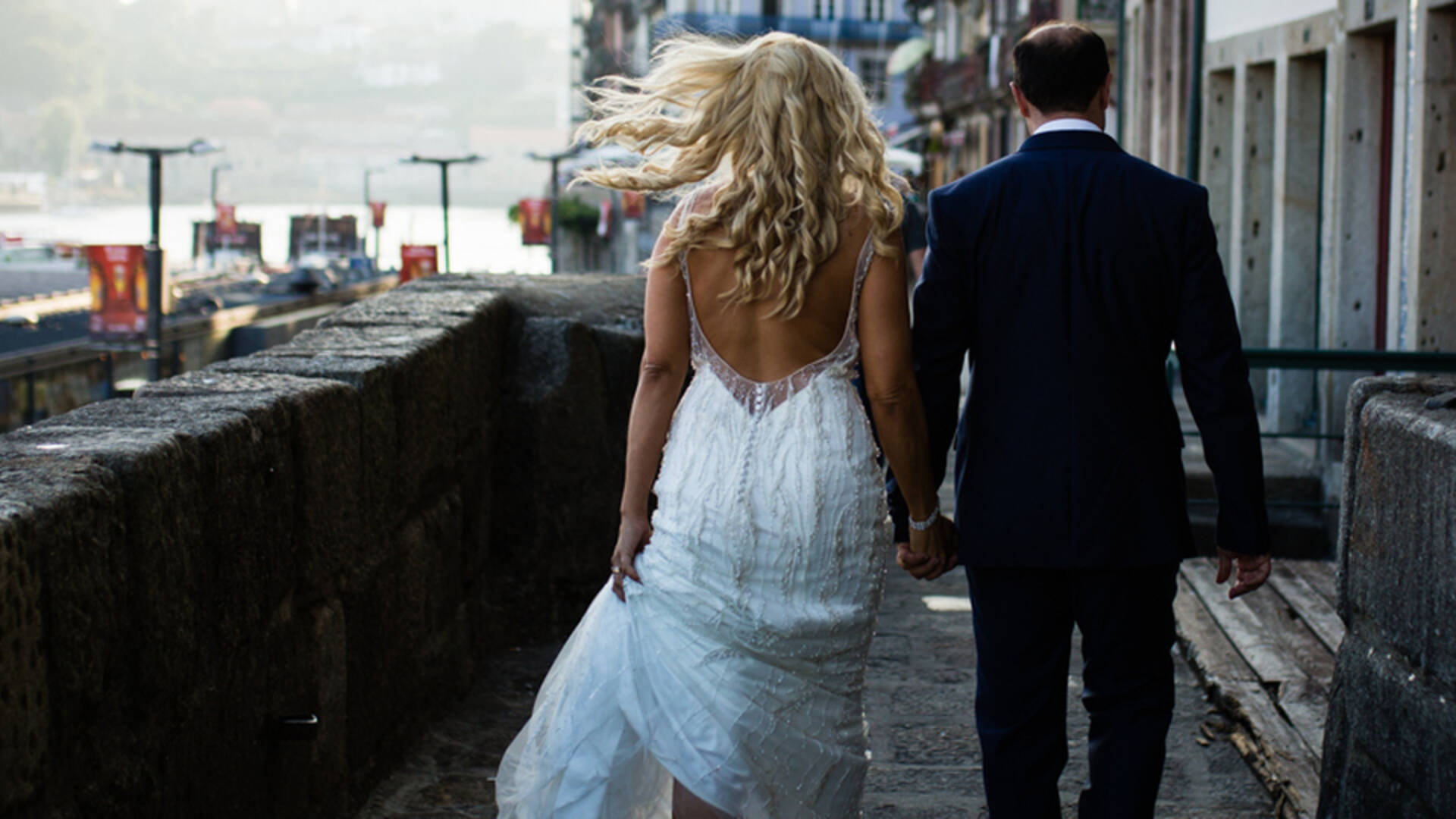 Trash the dress de Dina + Helder