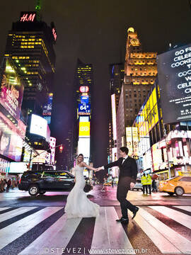 Trash the dress de Nathalia e Hugo em Nova York e Miami - EUA