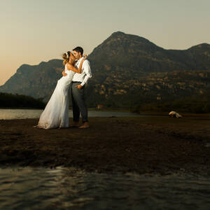 Externas (Trash the Dress) de Warley e Josiane