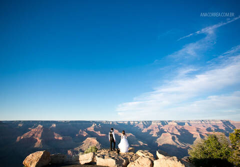 Trash the Dress de Rafa & Wagner | Trash the Dress | Grand Canyon