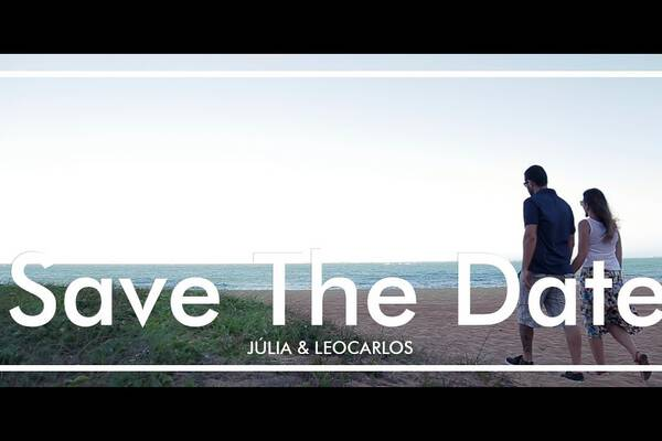 Save The Date de Júlia e Leocarlos