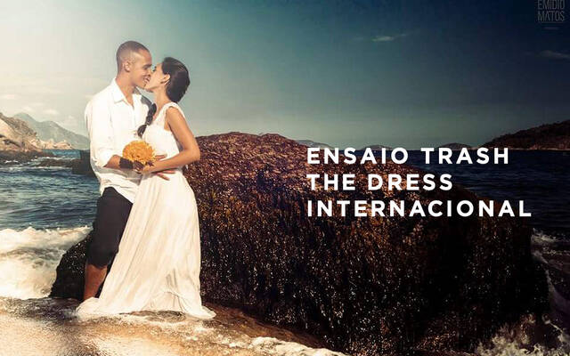 A magia do trash the dress internacional por Emidio Michele Matos Mercante