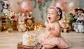 guarde cada reação do bebê de com esse lindo ensaio!