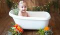 Ensaio Baby Milk Bath de Beatriz