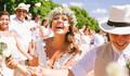 Casamento na praia de Campanini & Pricila