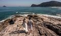 Pré Wedding na praia de Eli e Rafa