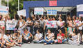 Ato em defesa do SUS - Mulheres na luta pela humanização - MMA de