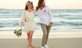 casamento na praia de Fanny e Alexandre
