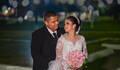 Bruna e Alex  de casamento