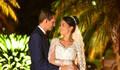 Mônica e Calebe de Casamento