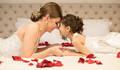 cumplicidade de Noiva e Daminha