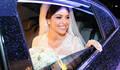 Chegada da noiva de Noiva linda