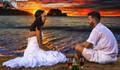 Casamento na Praia  de Trash the Dress