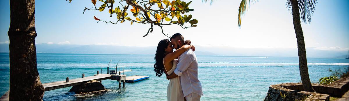 Ensaio de Pré wedding na praia