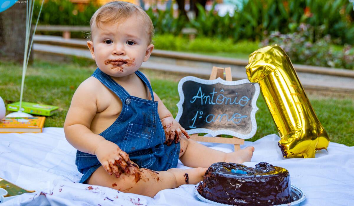 Ensaio Infantil de Antônio 1º Ano