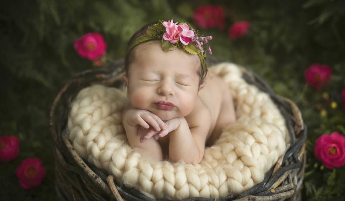 Ensaio Newborn de Newborn da Luísa, com 10 dias