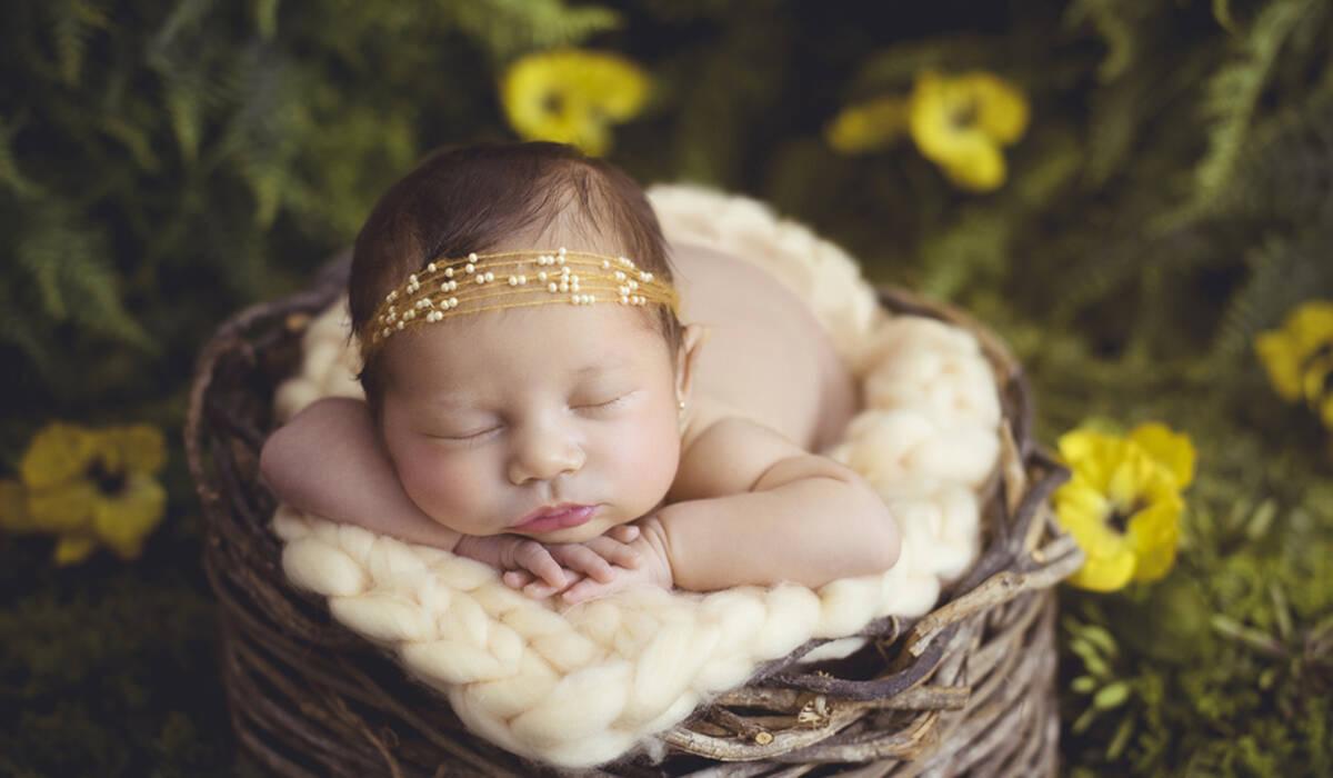 Ensaio Newborn de Newborn da Sofia, com 18 dias!