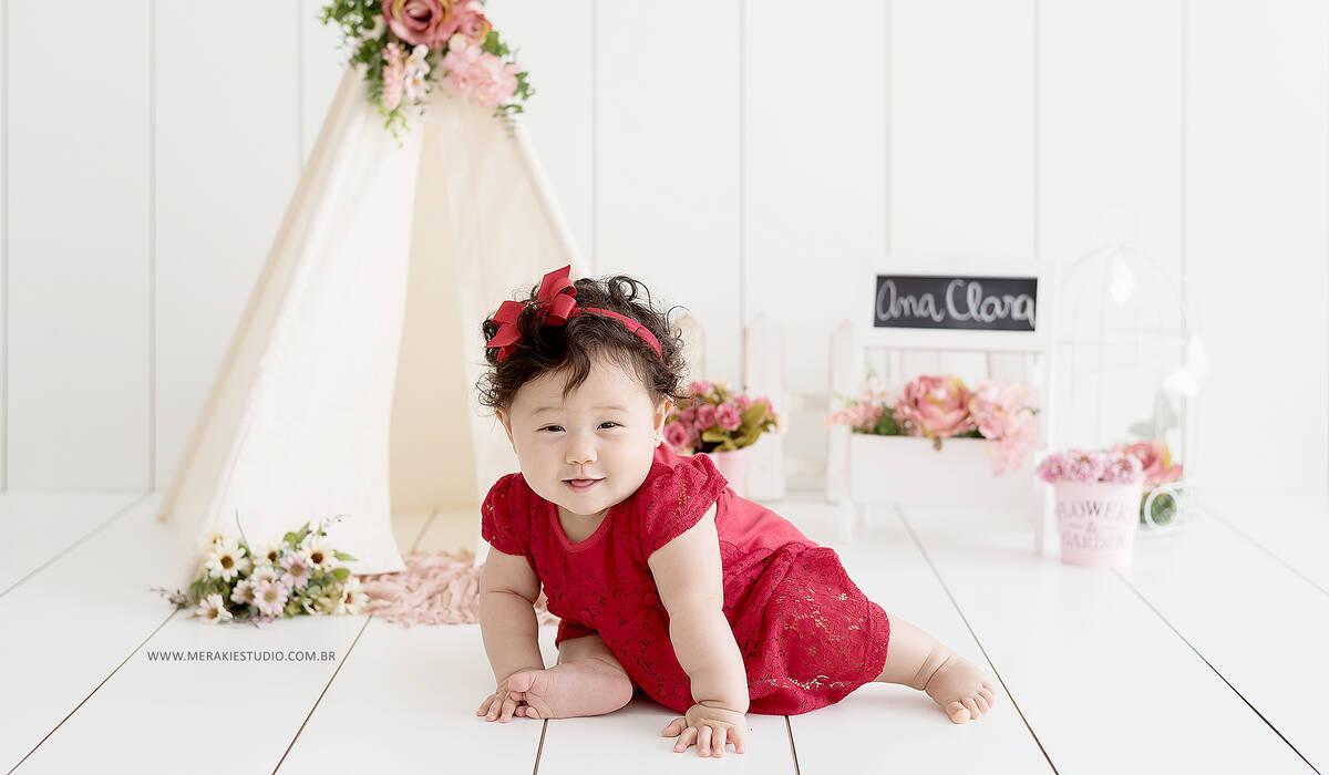 Acompanhamento de Ana Clara - 8 meses