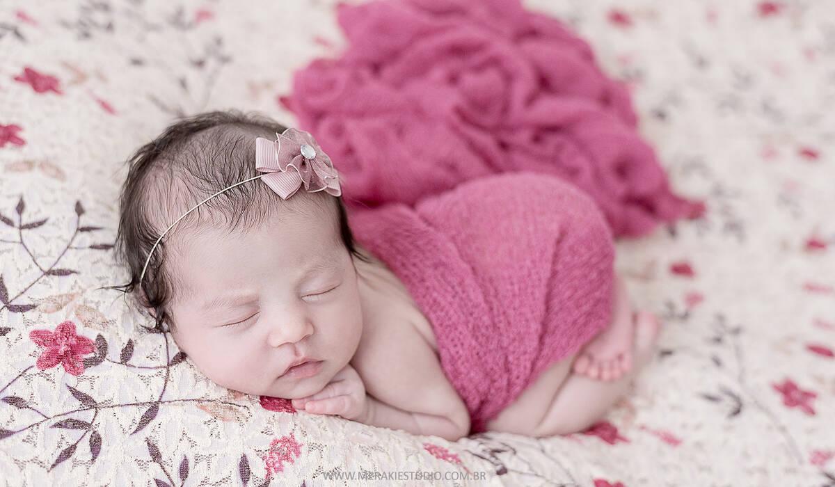 Newborn de Bianca - 8 dias