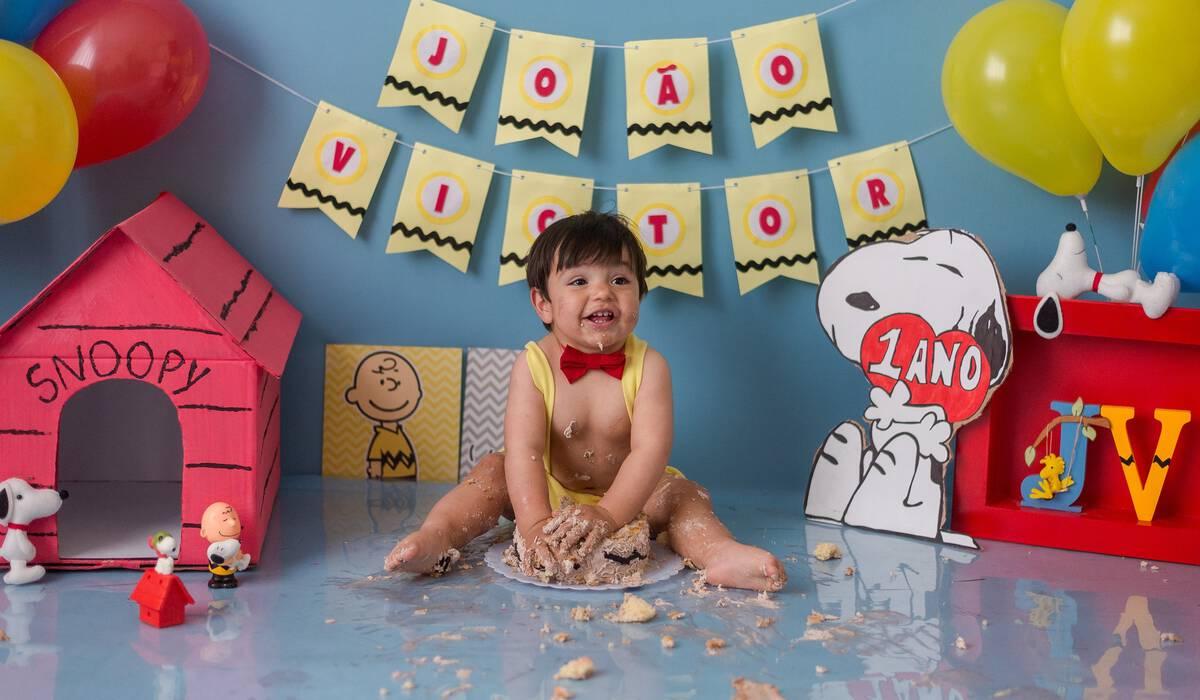 Smash The Cake de João Victor - Snoopy