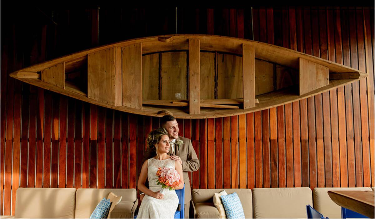 Casamento de Érica e Neto