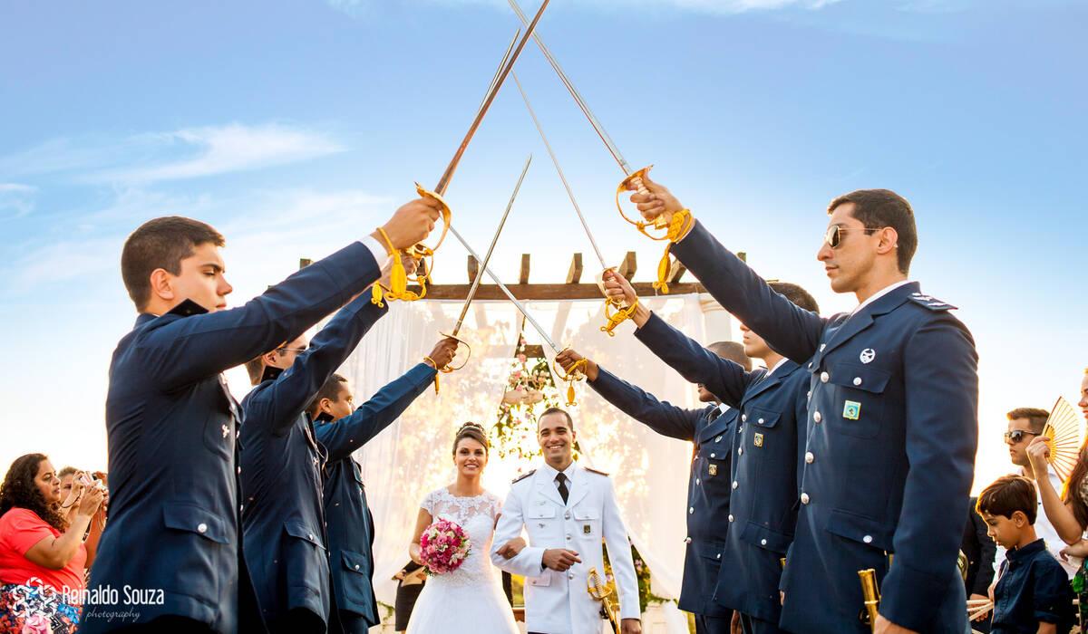 Casamentos de Bruna e David