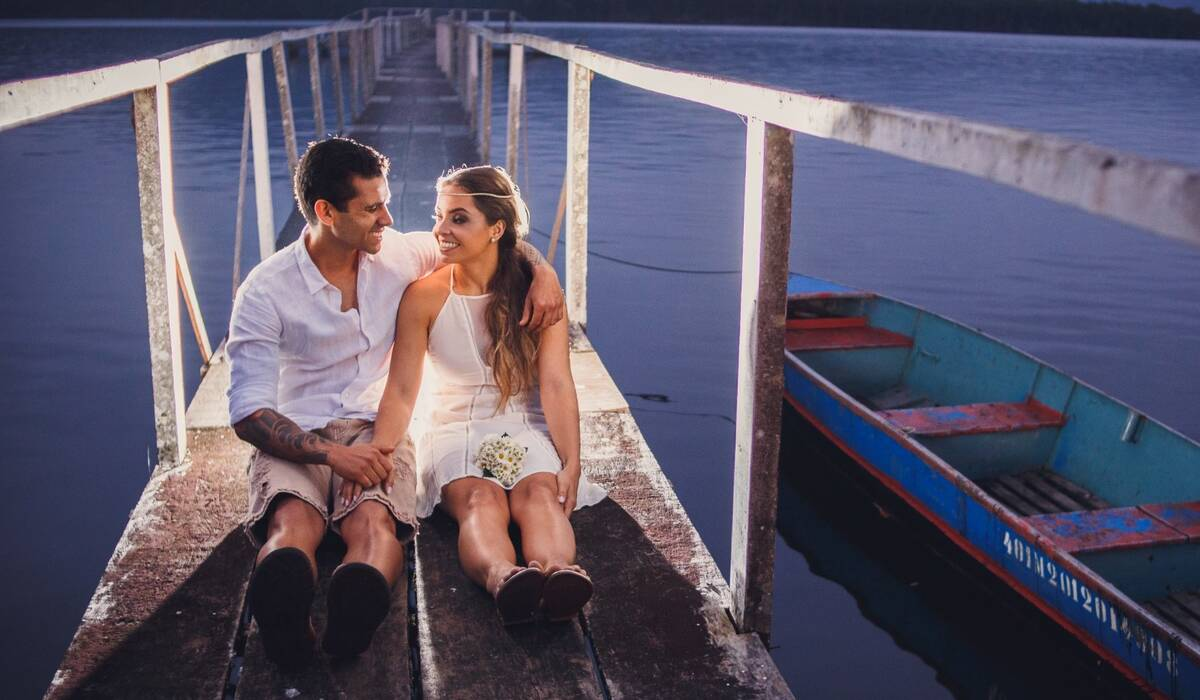 FOTOGRAFIA DE ENSAIO PRÉ WEDDING de LAIS E RAFAEL