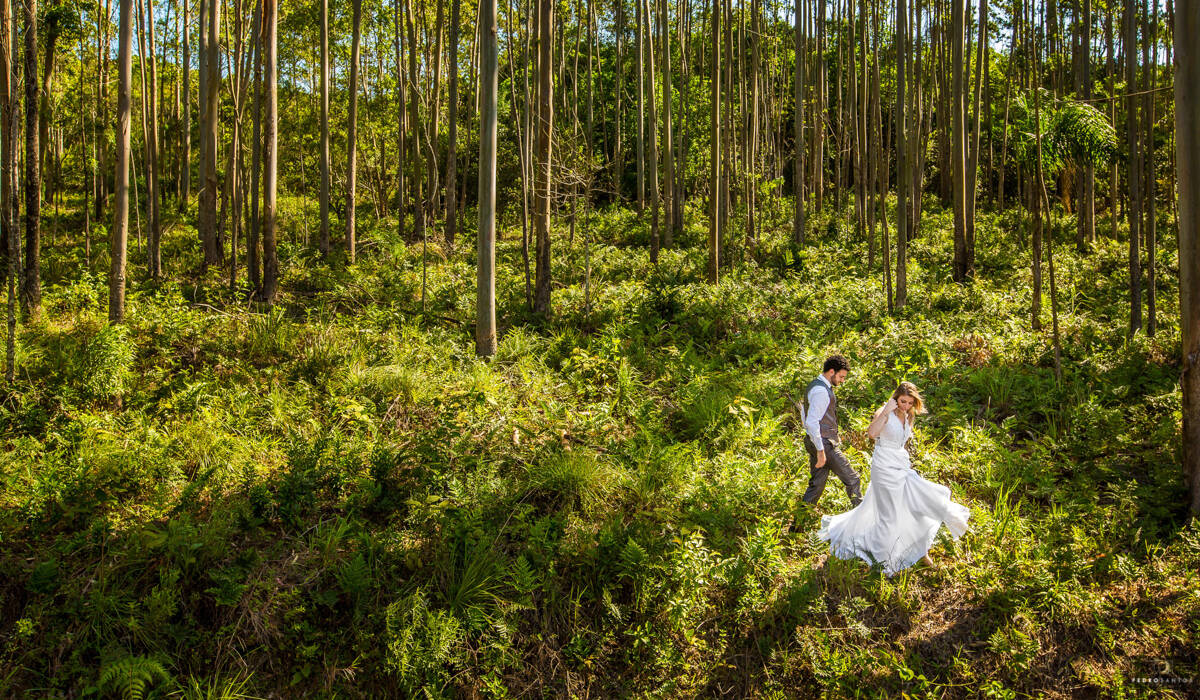 Trash the Dress de Thaiza e Jonatas