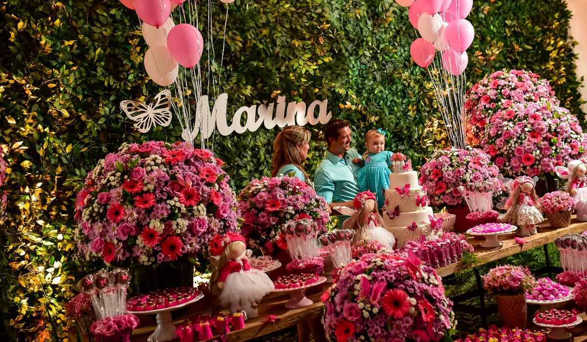 Aniversário de 1 Ano | Marina