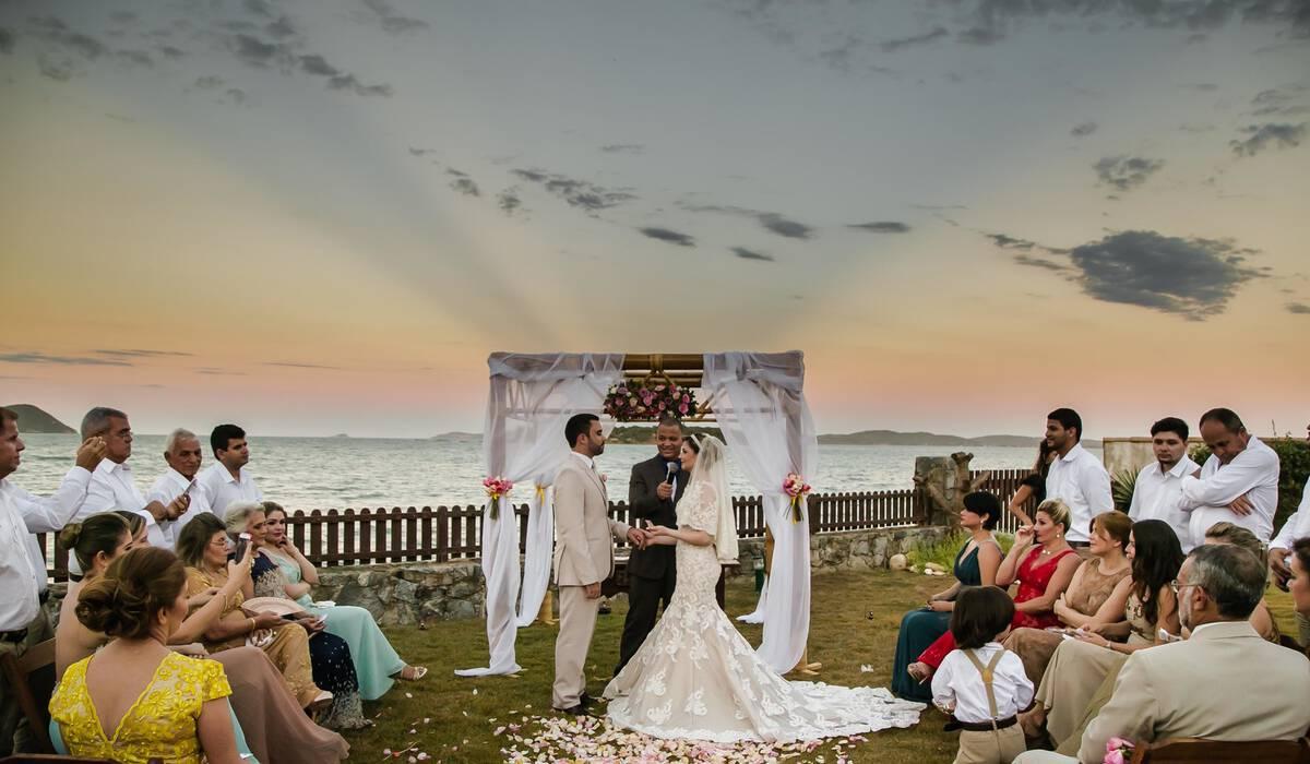 Casamento na Praia de Dayane & Junior