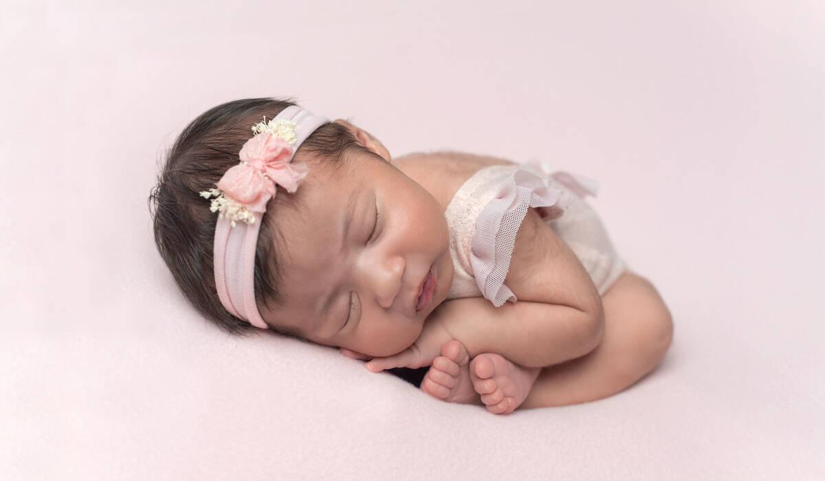 Ensaio de Newborn de Melissa