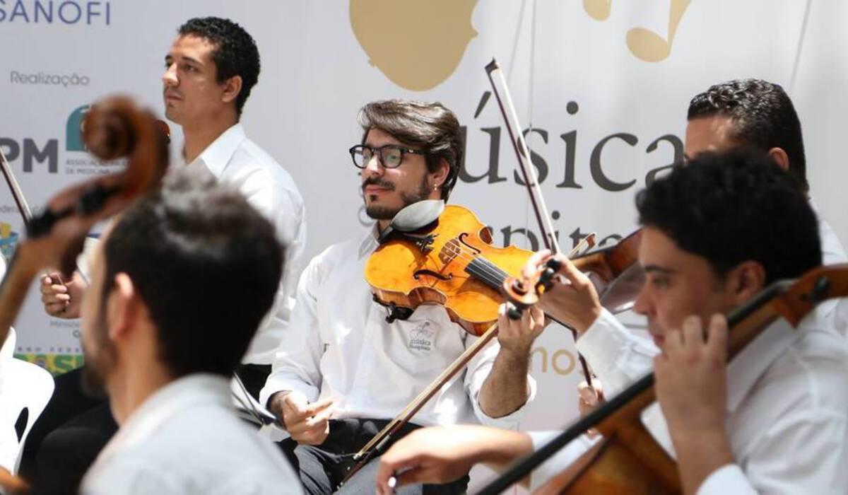 Abertura da temporada 2015 de Evento Música nos Hospitais