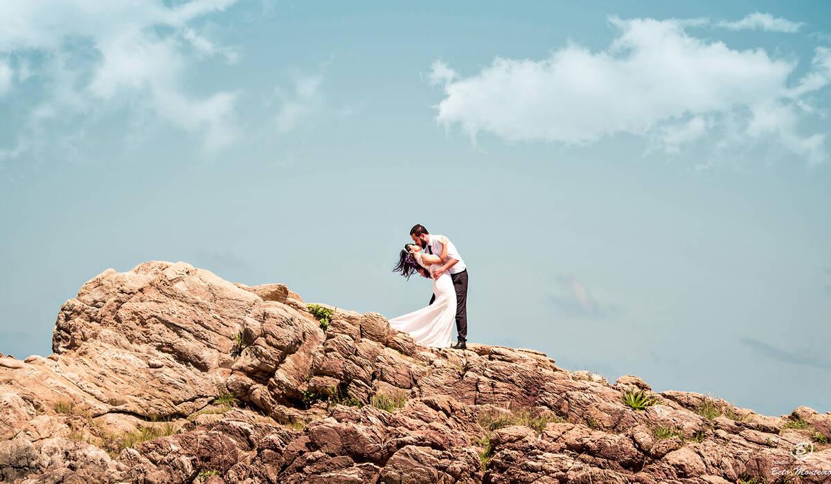 Sessão de fotos pré casamento de Kellen e Jonathan