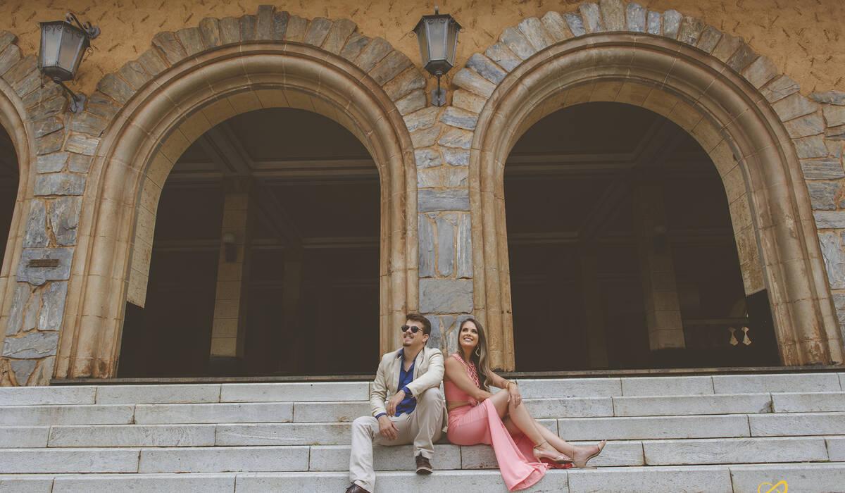 Ensaio Namorando de Alyne & Vinicius