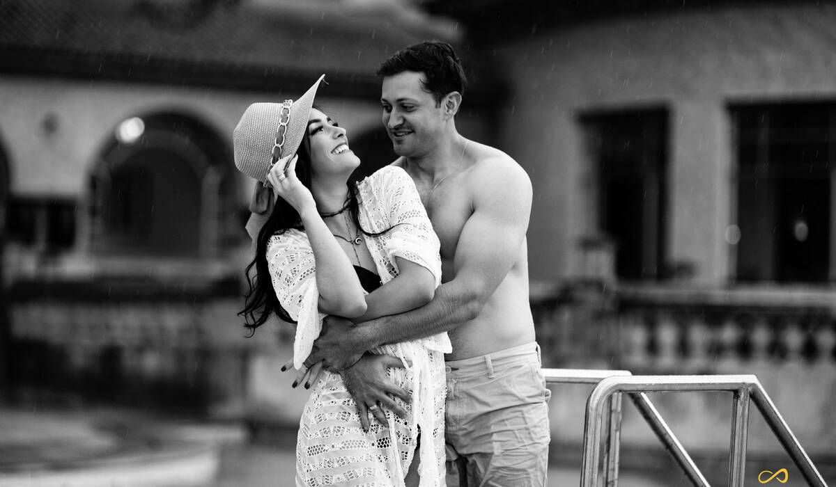 Ensaio Namorando de Thiago e Lívia