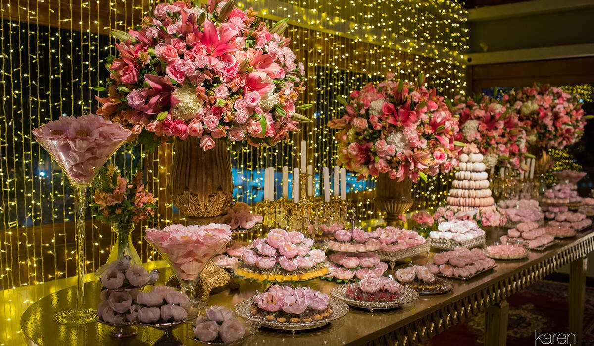 Flores e Decoração por Susana Araújo de Foto por Karen Branta