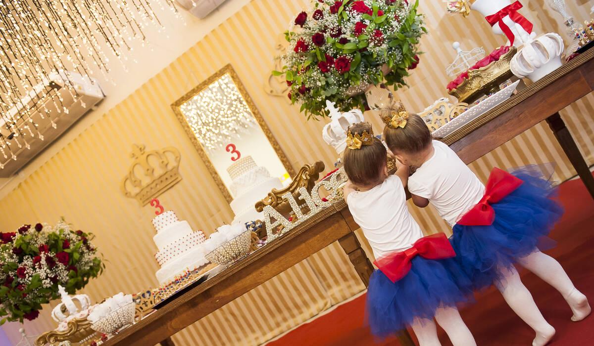 aniversário infantil de Alice e Cecilia