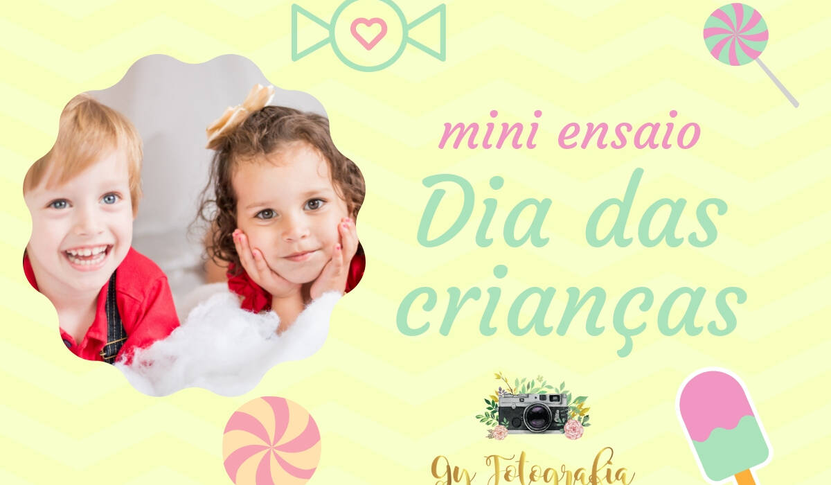 Dia das crianças de Mini ensaio