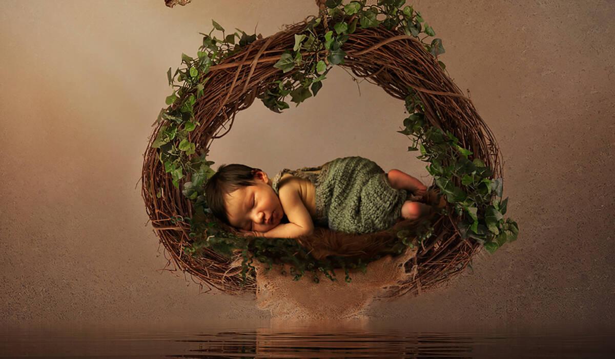 Recém Nascido de Alec