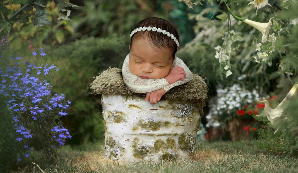 Recém Nascido de Elisa