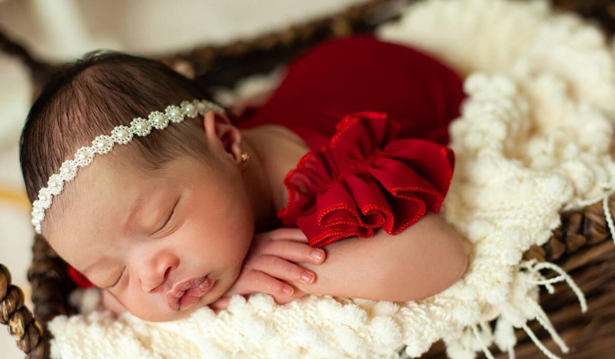 Recém Nascido de Livia