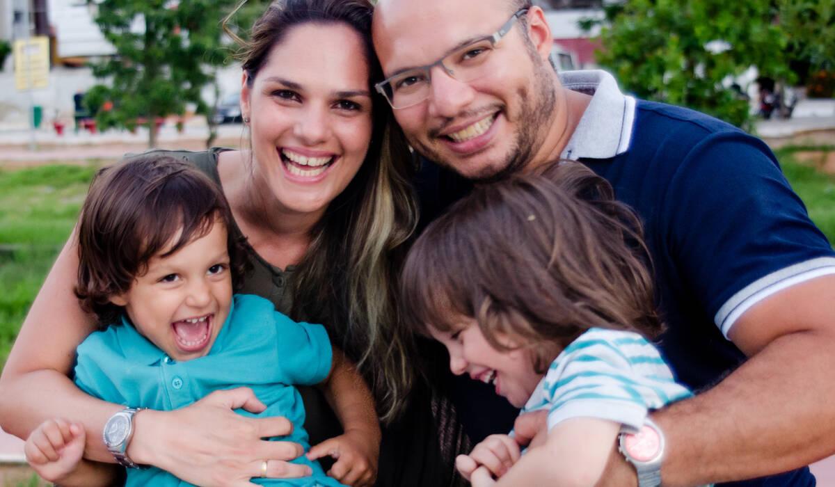 Familia de Férias em Jampa