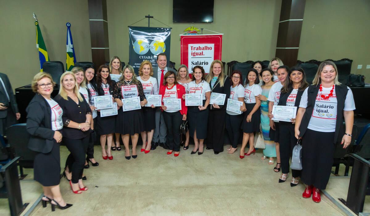 Audiência Pública de BPW Cuiabá - Trabalho Igual Salário Igual