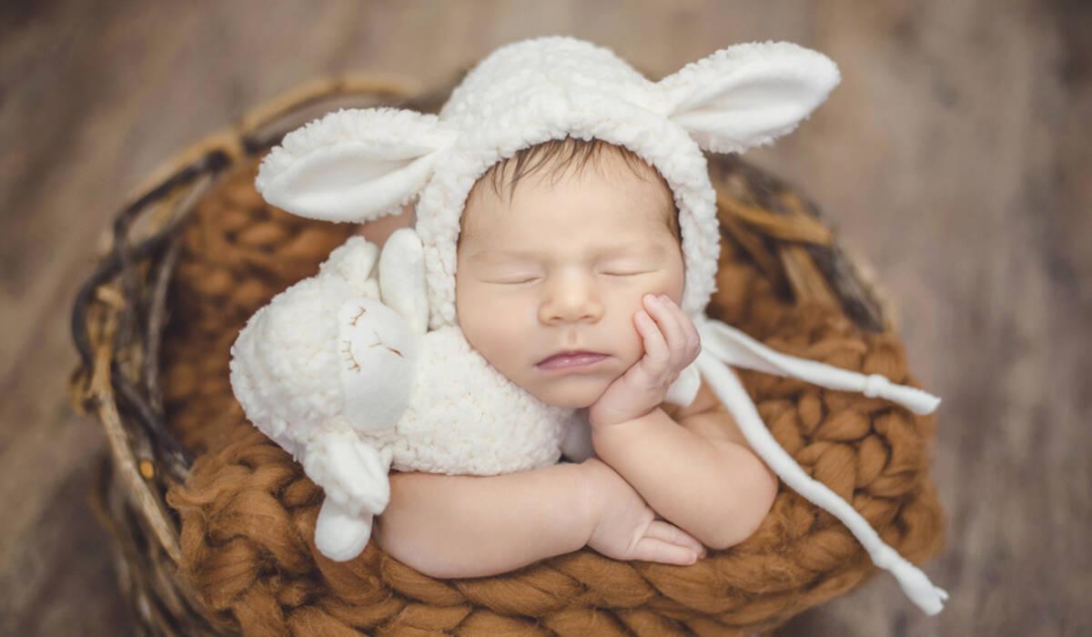 Ensaio Newborn de Newborn da Eloísa, com 11 dias!