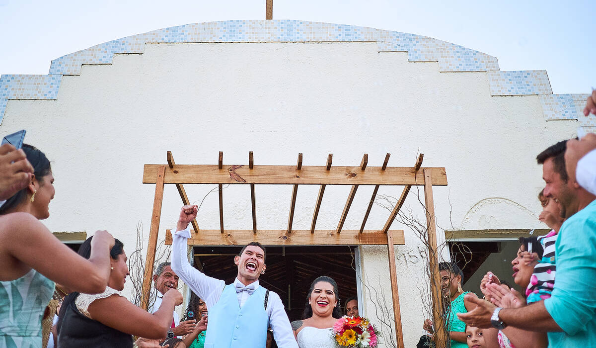 Casamento de André e Thais