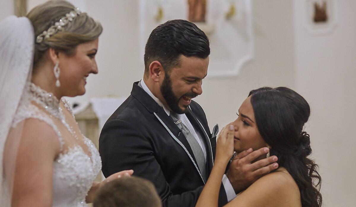 Carla & Tiago de Casamento