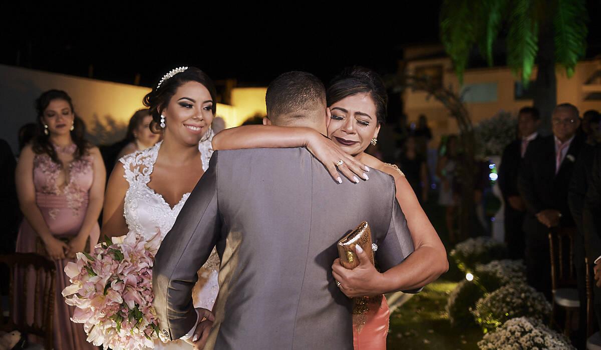 Casamento  de Jaqueline e Fernando