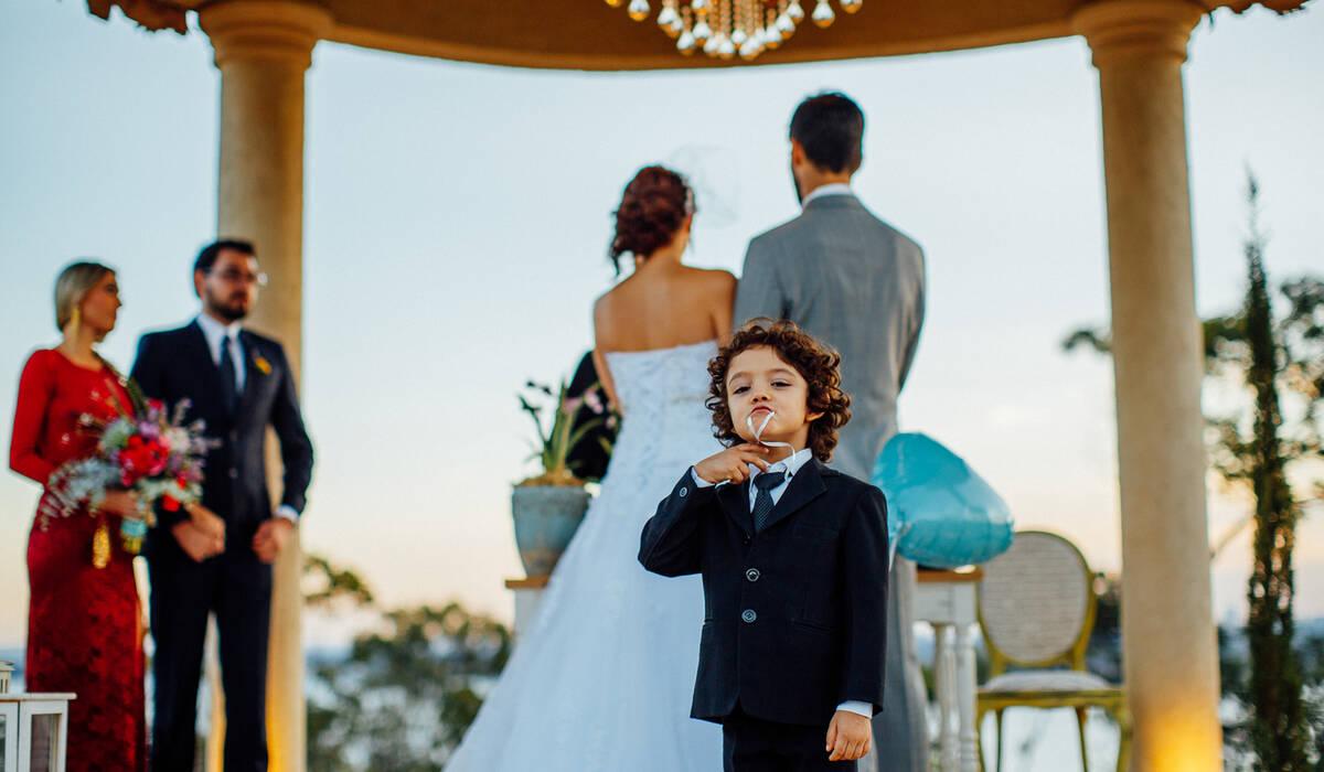 Clique aqui e confira de Crianças nos casamentos