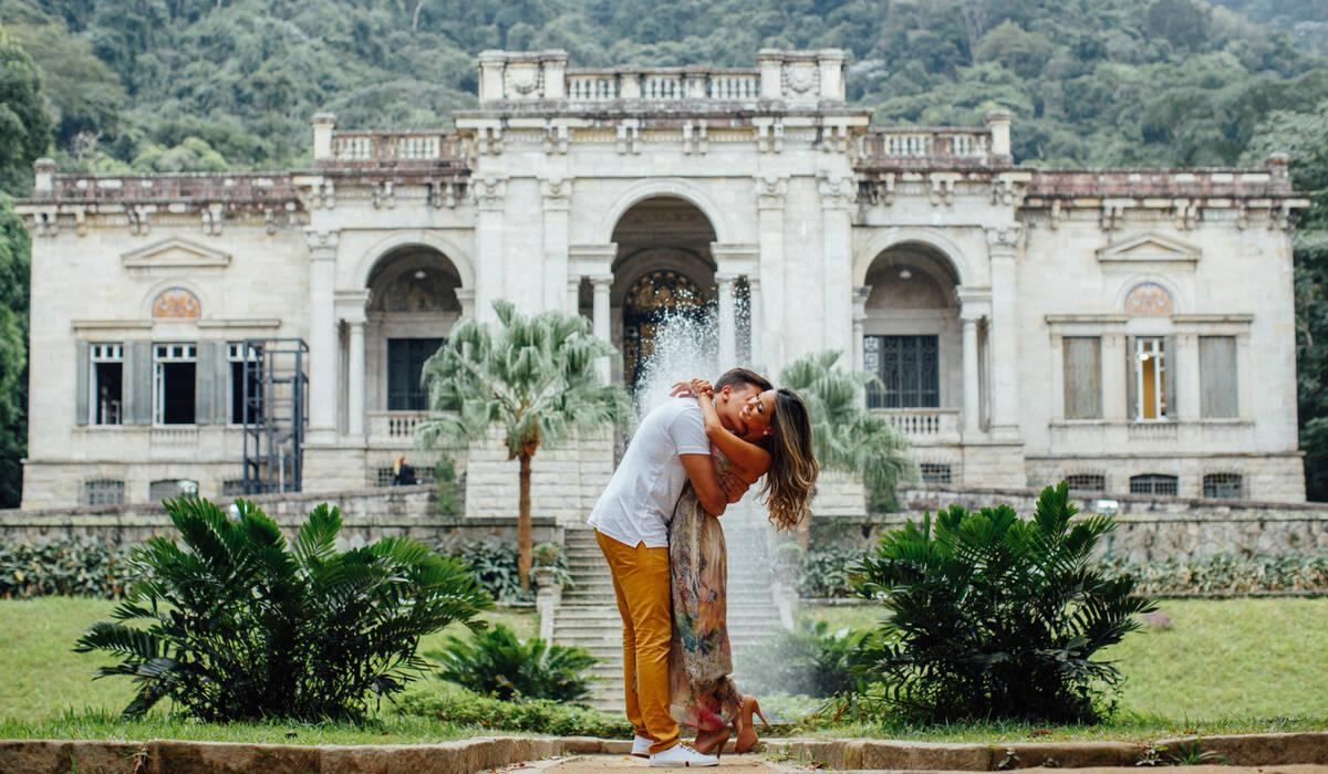 Clique aqui e confira esse lindo ensaio na cidade maravilhosa! de Lays e Luciano