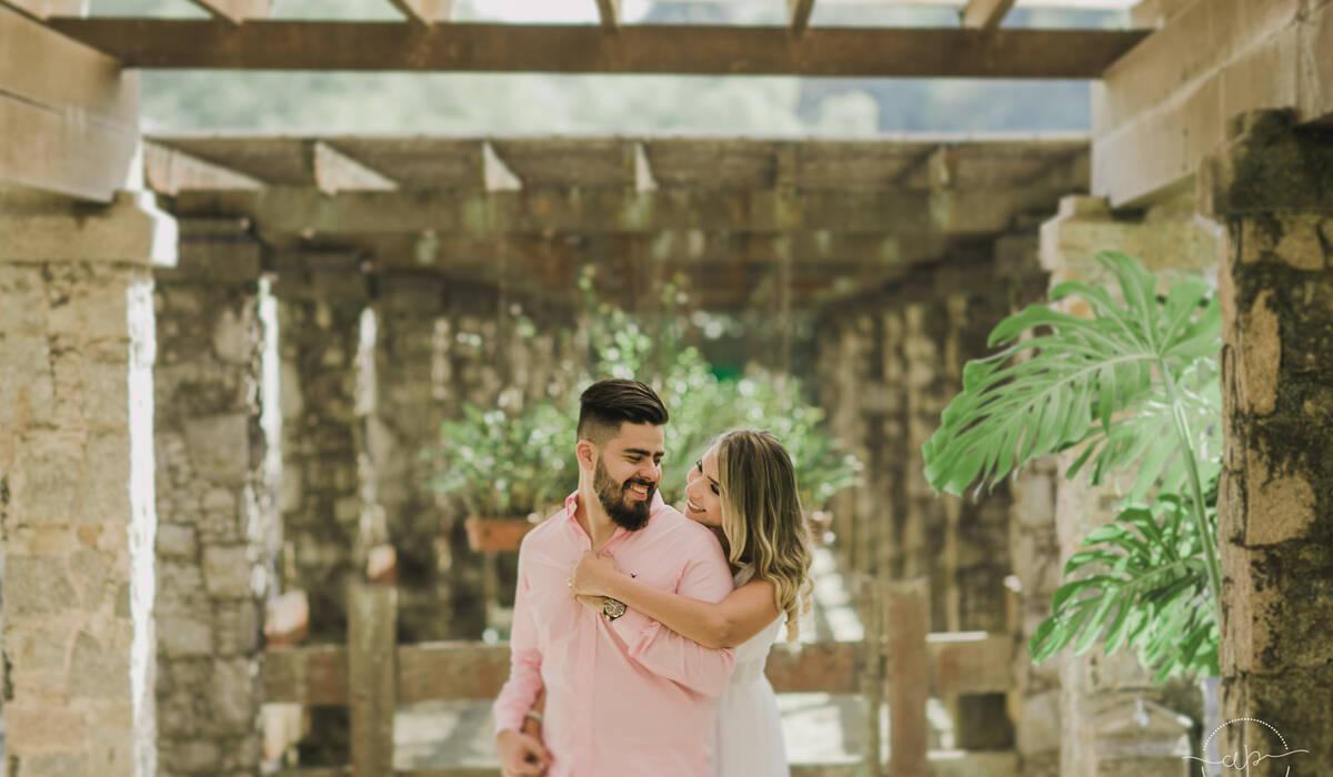 Ensaio Pré Casamento de Thais + Matheus